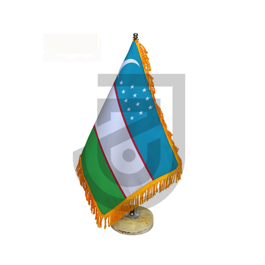 پرچم ازبکستان دور ریشه
