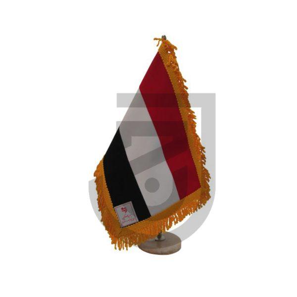 پرچم یمن دور ریشه